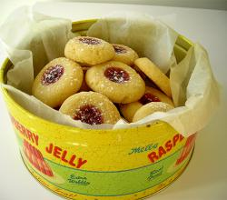 Jellied Drop Biscuits
