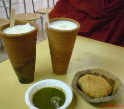 Kachori And Lassi