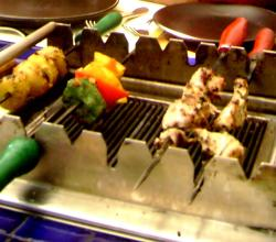 Kebabs At Bar B Cue Nation Kolkata
