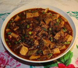Korean Mapo tofu