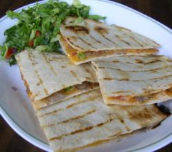 Lamb quesadilla