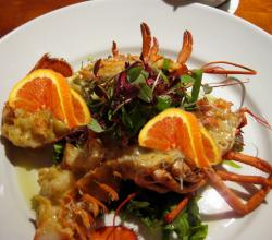 Lobster In Brandy Orange Sauce