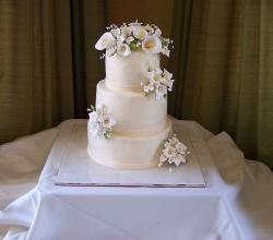 Mason Sweets Wedding Cake