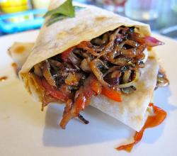 Moo Shu Pork Burritos