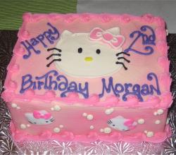 Morgans second birthday cake