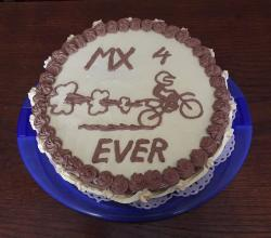 Motocross Madness Birthday Cake