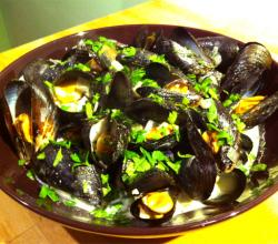 Mussels In Ginger Cumin Sauce