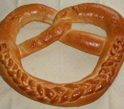 New Year Pretzel