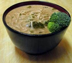 Noodle Broccoli Cheese Soup