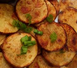 Oven-Fried Potato Wafers