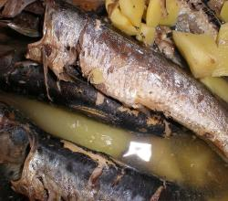 Paksiw with sardines