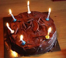 Perfect Chocolate Birthday Cake