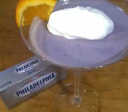 Philadelphia Blueberry Panna Cotta