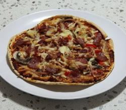 Pita-Bread-Pizza