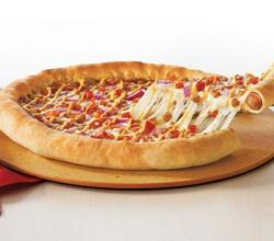 "Pizza Hut's ""Hot Dog Stuffed Crust"""
