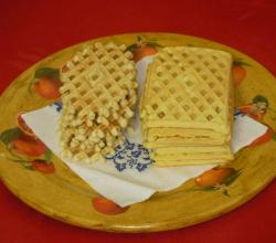 Pizzelle o ferratelle