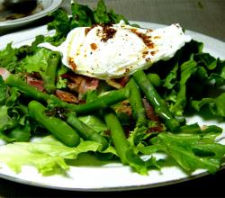 Poached Egg With Vinaigrette