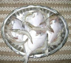 Pomfret And Prawns