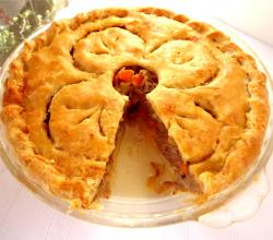 Pork And Pear Pie