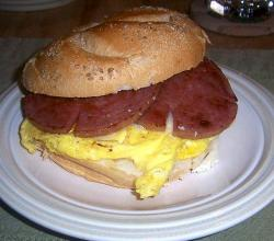 Pork roll egg cheese sandwich