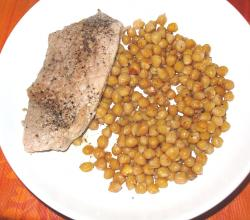 Pork with chickpeas