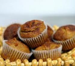Gluten-free, Sugar-free Pumpkin Muffin