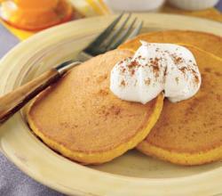 Amy's Silver Dollar Pumpkin Pancakes
