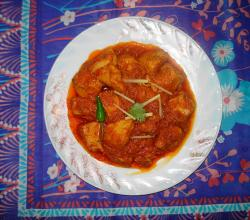 Punjabi Chicken Handi
