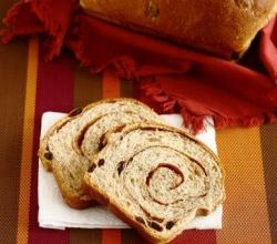 Sugarless Raisin Bread