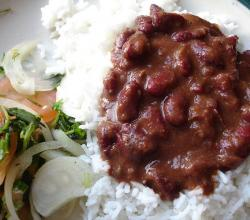 Rajma with chawal