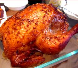 Roast Chicken With Orange Prune Stuffing