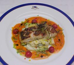 Roasted Snapper With Artichoke Potato
