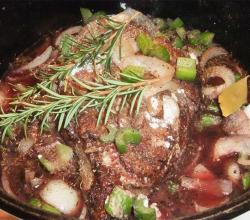Rosemary Beef Broth