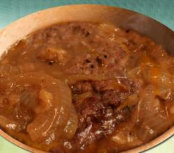 Salisbury Steak Onion Gravy