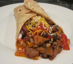 Savory Pork Burritos