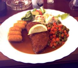 Schnitzel Cordon bleu