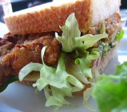 Schnitzel Sandwich