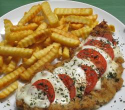 Schnitzel Tomate Mozarella