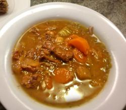 Seasoned Oxtail Stew