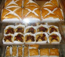 Several types of Baklava