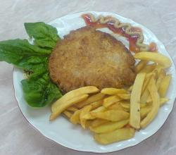 Shnizel with Fried Potato