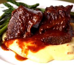 Short Ribs in Plum Sauce