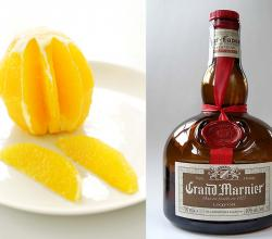 Sliced Oranges With Grand Marnier