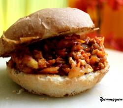 Chicken Sloppy Joe Read To Eat