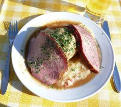 Pork with Sauerkraut and Dumplings