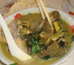 Snails with Green Bananas and Tofu