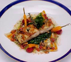 Snapper With Sauce Vierge