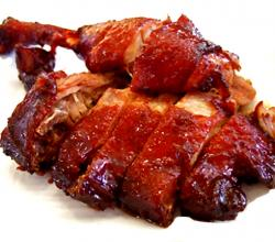 Soy Glazed Roast Duck