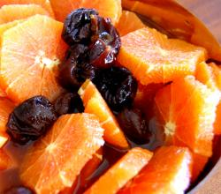 Spiced Oranges and Prunes