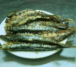 Spicy Grilled Sardines